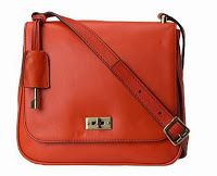 Fossil Memoir Small Flap Genuine Calfhair Bright Orange (CMLN) Rp.1.600.000
