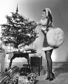 70 Best Christmas Pinup Images On Pinterest Xmas
