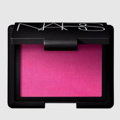 Nars desire blush; don't be afraid of this bright pink...gives the most beautiful wash of pink to the cheeks