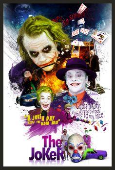 The joker is my favorite enemy.  This is my fanart.