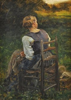 Jules Breton ~ French Realist painter