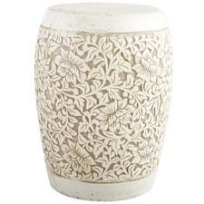 Embossed Flower Plant Stand