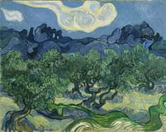 Vincent Van Gogh, The Olive Trees, 1889