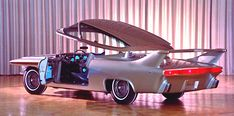 1961 Chrysler Turboflite Check out the automatic canopy (lifted every time the door is opened):