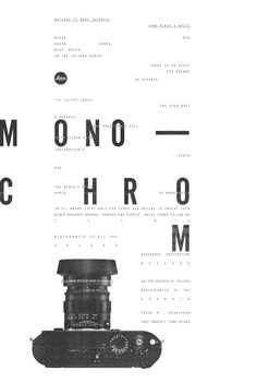 Image result for see a poster design on black or white frame