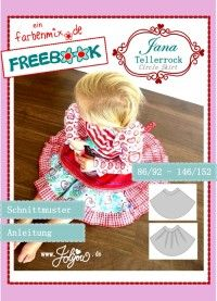 free circular skirt pattern for littlies up to bigger children