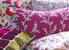 Voyage Maison - Designer Fabrics, Wallpaper & Home Accessories Autumn Fair, All Design, House Design, Crafts Beautiful, Soft Furnishings, Iridescent, Fabric Design, Home Accessories, Create Yourself