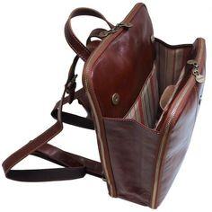 Leather Backpack, Leather Bag, Leather Knapsack, Floto Venezia Knapsack Leather Backpack in Brown Full Grain Calfskin Leather Backpack Bags, Leather Backpack, Leather Work Bag, Leather Bags, Soft Leather, Leather Purses, Leather Handbags, Back Bag, Work Bags