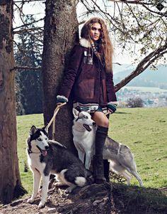 Smile: Phillipa Steele in Stylist UK Magazine 25th November 2014 by Anoush Abrar