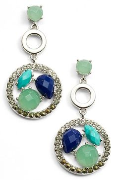 Judith Jack 'Alluring Oasis' Drop Earrings available at #Nordstrom