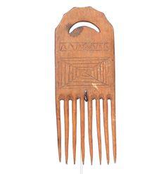 Akan Comb, Art From West-Africa #1490 | Combs | Artifacts — Deco Art Africa - Decorative African Art - Ethnic Tribal Art - Art Deco