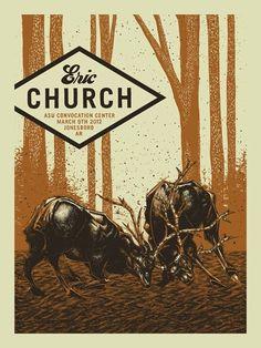 Eric Church by John Vogl