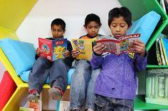 Los niños del DIF municipal emocionados con su nueva donación