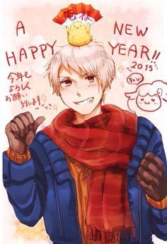 Hetalia- Prussia - Happy New Year!!!