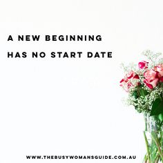 You can start a fresh with living a life you love whenever you want! New beginnings happen when you decide. Start today & live a life you love!