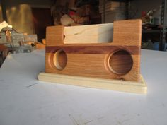 MADE TO ORDER iPhone 5 Soundbox / passive phone amplifier /