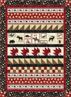 "PTN892 ""The National Tapestry"" uses new fabrics from Stonehenge OH CANADA II"