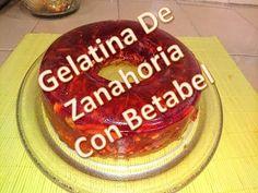 Gelatina de Zanahoria Con Betabel - YouTube Gelatina Natural, Make It Yourself, Youtube, Desserts, Food, Beetroot, Deserts, Tailgate Desserts, Essen