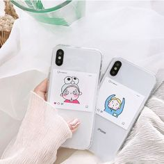 Soft TPU Couple Transparent Cute Simple Hand-painted Men Women iPhone Phone Case is best and cool on Newchic. Couples Phone Cases, Cute Phone Cases, Iphone Phone Cases, Iphone 7, Phone Case Store, Apple Model, Plus 8, Boyfriend Gifts, Cute Gifts