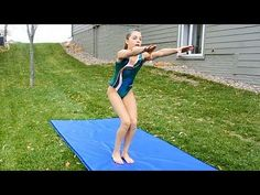 How to do a Front Handspring - YouTube