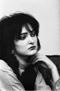 "#SiouxsieSioux, ca 1981. Photo © Virginia Turbett. || Video: ""The Passenger"" - https://www.youtube.com/watch?v=4nAON-MwUPY"