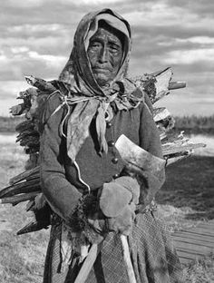 Athabascan woman - no date