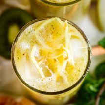 Ma recette du jour : Jus detox ananas gingembre sur Recettes.net