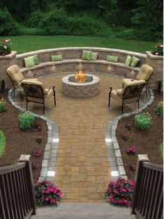 5 Big Projects For The New Home. Fire Pit ...