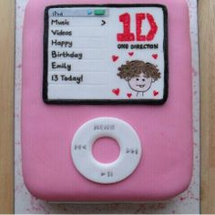 This is a really cool cake and you could customize the album to be whatever you want