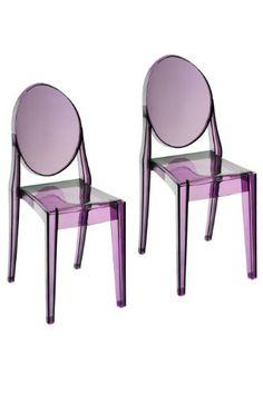 Pangea Home Royce Dining Chair Purple Set of 2 ** Continue to the product at the image link. (Amazon affiliate link)