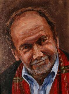 Jerzy Kisielewski portrait Cyprian Nocoń Nocon