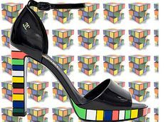 rubik's cube shoes