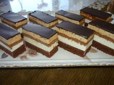 tribitka Slovak Recipes, Czech Recipes, Ethnic Recipes, Cookie Recipes, Dessert Recipes, Mini Cheesecakes, Homemade Cakes, No Bake Cake, Tiramisu
