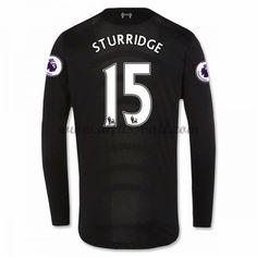 Neues Liverpool 2016-17 Fussball Trikot Sturridge 15 Langarm Auswärtstrikot Shop