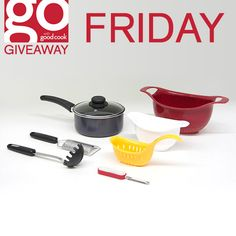 FREE Italian Cuisine Prize Packs from Good Cook on Friday, May 15th! Good Cook #AskGoodCook