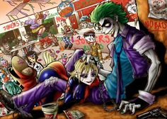 Joker and Harley Quinn!! - Taringa!