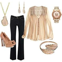 Simple but chic especially the top