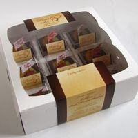 Varlhona Pudding set of 9 by Pearlycakes.com