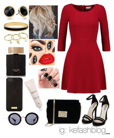 """""""❤"""" by kcliffxx on Polyvore featuring Milly, Nly Shoes, Jimmy Choo, Trina Turk LA, Halcyon Days, Rebecca Minkoff, Tom Ford, Henri Bendel, Miu Miu and H&M"""