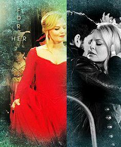 """""""...for her."""" (3 of 3) Killian & Emma!! #CaptainSwan!"""