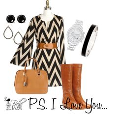 """""""P.S. I Love You"""" by bellelavieboutique on Polyvore"""