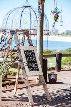 Fanus & Lindie Troue #SeaTraderAwesomeView Porch Swing, Outdoor Furniture, Outdoor Decor, Ladder Decor, Wedding, Home Decor, Valentines Day Weddings, Decoration Home, Room Decor