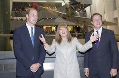 The Duke of Cambridge opens the First World War Galleries. Pic Ella Pellegrini.