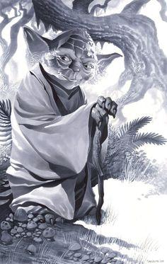 Yoda by ChristopherStevens.deviantart.com on @deviantART