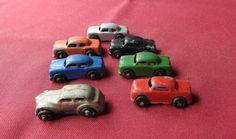 Barclay Die Cast Metal Cars  Die-cast Cars  1950's Toy