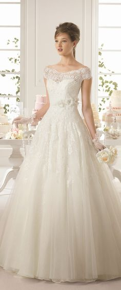 Aire Barcelona 2015 Bridal Collection – Part 2agregarle a un vestifo strapless manguitas