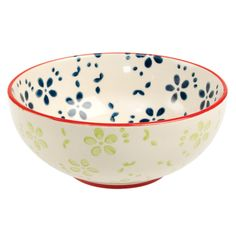 Moorish Cereal Bowl Emmas Daisy | DotComGiftShop
