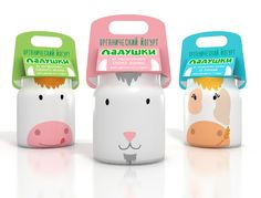 Ladushki Kid's Yogurt (Student Project) on Packaging of the World - Creative Package Design Gallery