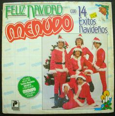 GRUPO MENUDO FELIZ NAVIDAD CON 14 EXITOS NAVIDEÑOS wrapped #LatinPop