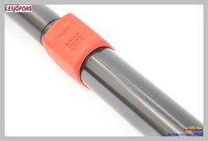 Gas spring with security lockable device - Muelle de gas con mecanismo bloqueable de seguridad